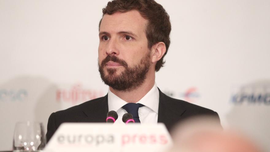 Casado pide al Gobierno que contemple el traslado de los presos del procés a otra cárcel fuera de Cataluña