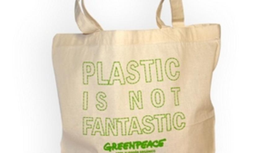 Bolsa disponible en la tienda 'online' de Greenpeace.