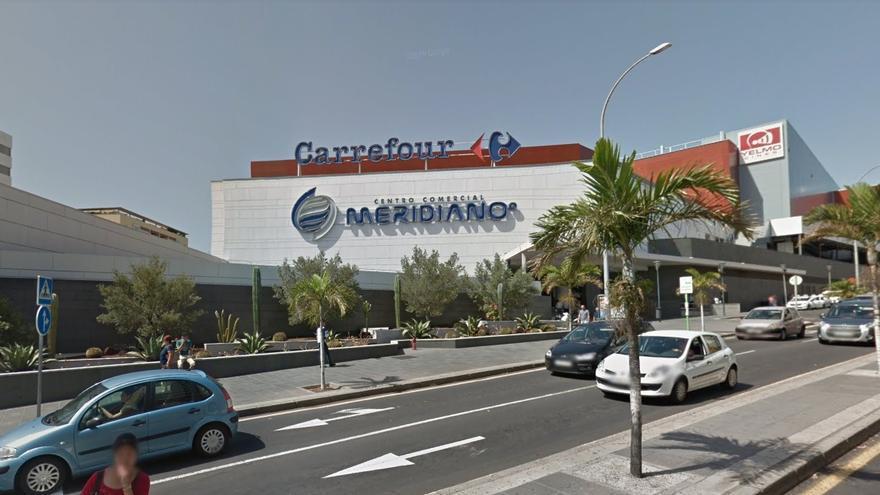 Centro Comercial Meridiano, en Santa Cruz de Tenerife