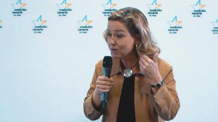 Ana Oramas, diputada de Coalición Canaria.