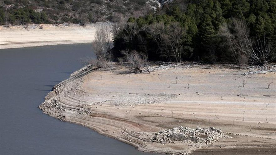 La reserva hidráulica está al 52,2 % tras disminuir un 1 % en una semana