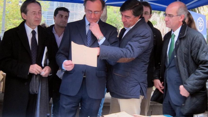 """Alfonso Alonso (PP) aboga por un gobierno """"con la mayor fortaleza posible"""""""