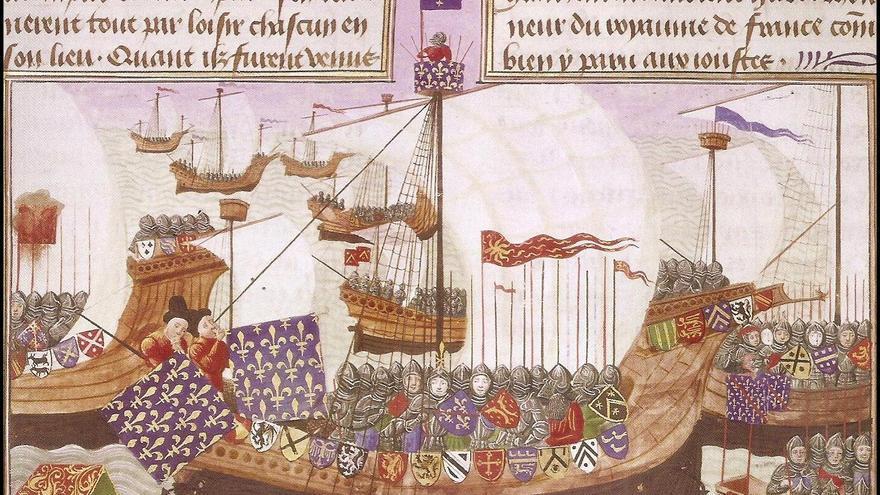 En 1405 Niño partió desde Santander con tres naves de guerra rumbo al océano Atlántico. Allí se convirtió en uno de los más destacados almirantes castellanos gracias a sus acciones de corso contra los ingleses.