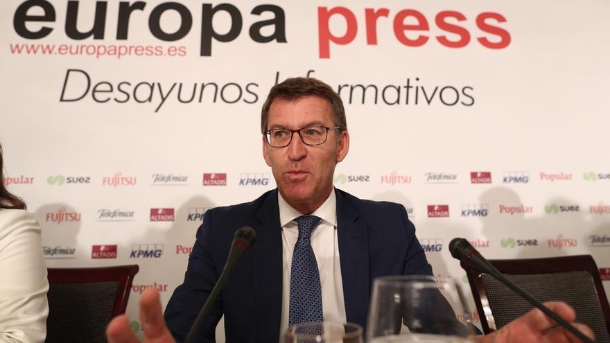 """Feijóo espera que Sánchez rectifique o """"le ayuden"""" a rectificar y evite ser un personaje de los Hermanos Marx"""