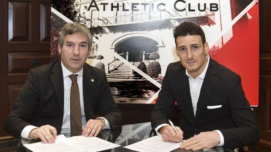Aduriz renueva por un año con el Athletic Club de Bilbao