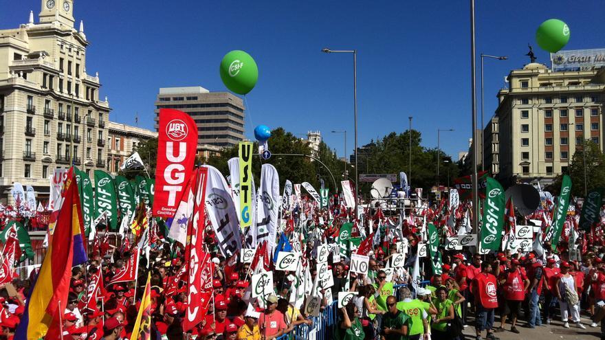 Manifestación del 15S en Madrid