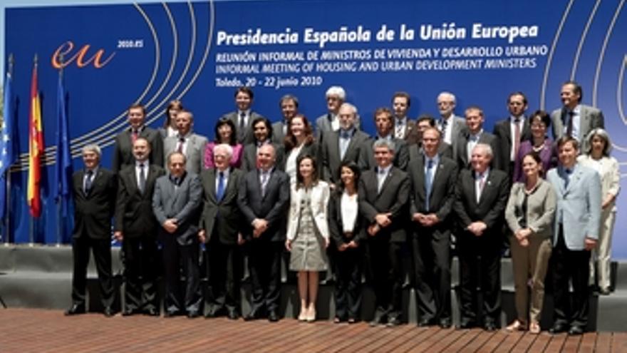 Ministros vivienda UE