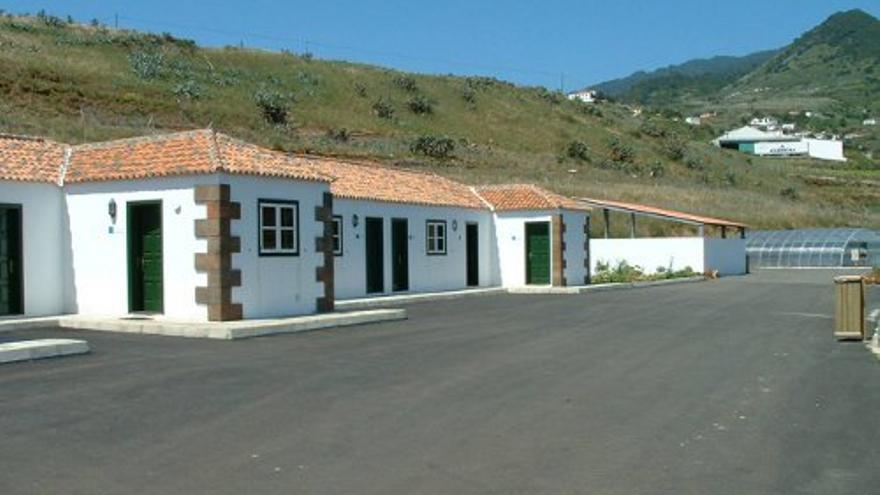 En la imagen, Vivero de Flora Autóctona y Centro de Fauna Silvestre  del Cabildo de La Palma en el municipio de Puntallana.