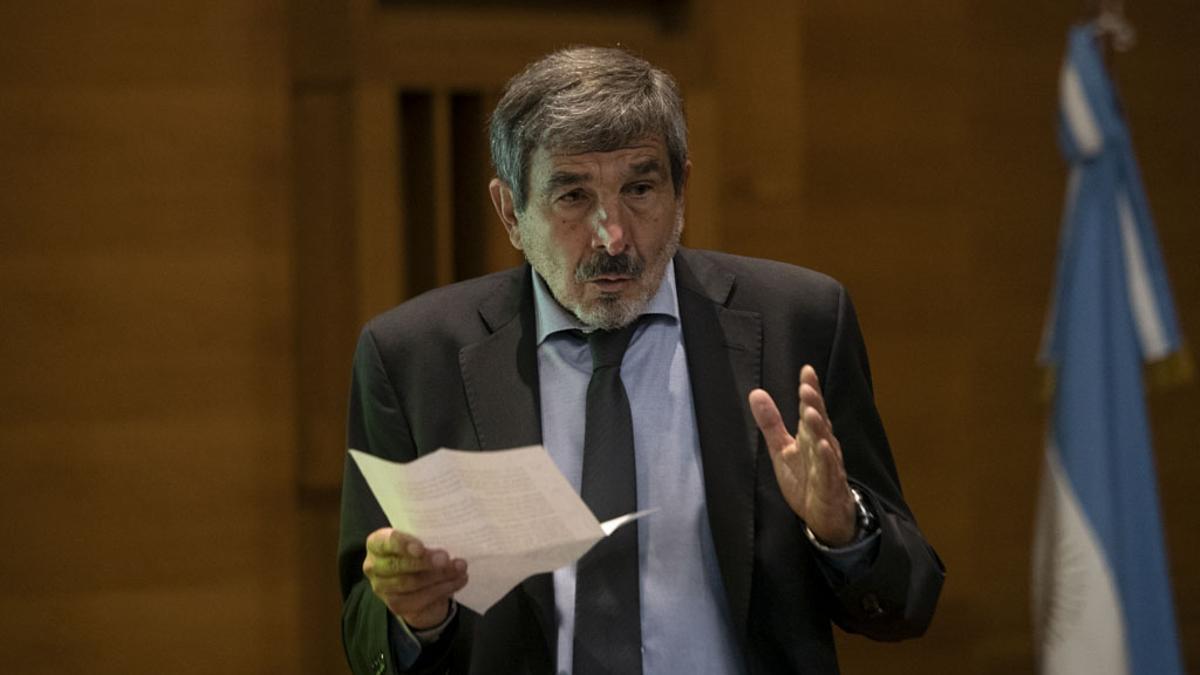 El ministro de Ciencia, Tecnología e Innovación, Roberto Salvarezza,