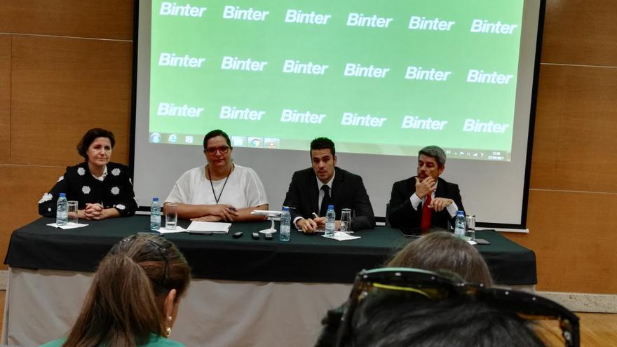Presentación de este viernes en una sala de prensa del aeropuerto de Lisboa