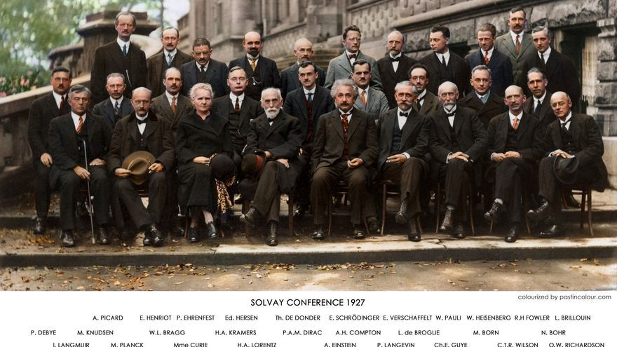 Allstars: Congreso Solvay de 1927