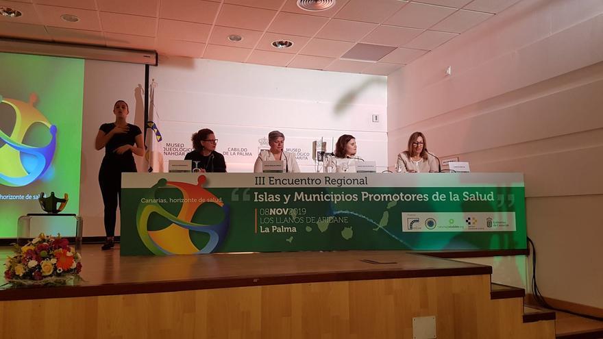 Apertura del III Encuentro Islas y Municipios Promotores de la Salud en el Museo Benahorita de Los Llanos de Aridane.