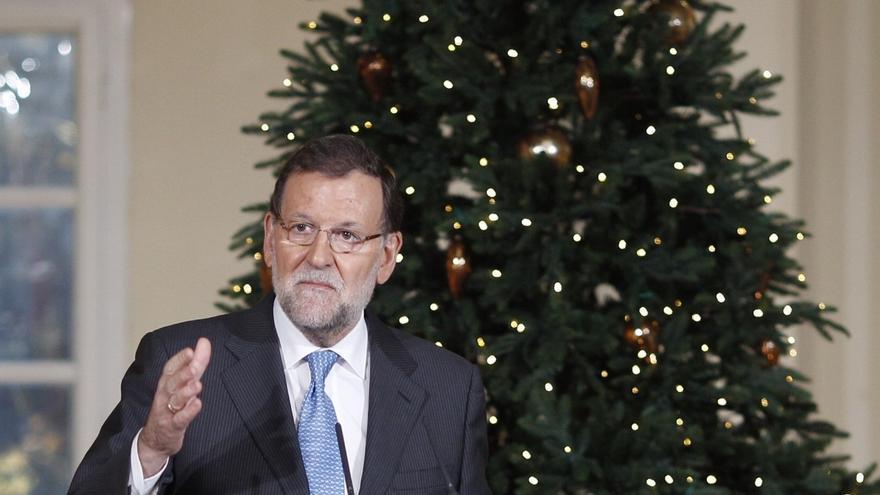 """Rajoy no se cierra a reformar la Constitución aunque no sea la """"prioridad"""" de España, pero pide """"consenso"""""""