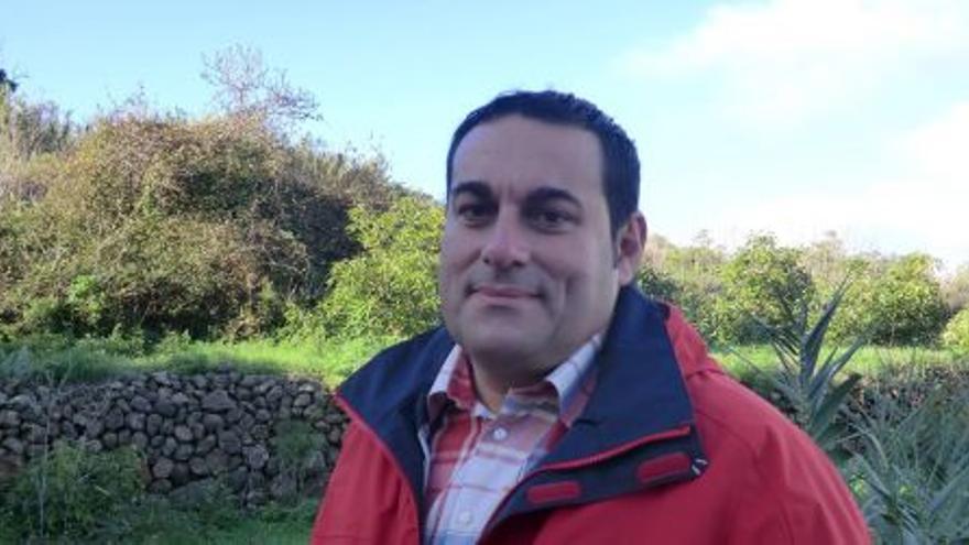Basilio Pérez, consejero de Agricultura del Cabildo de La Palma