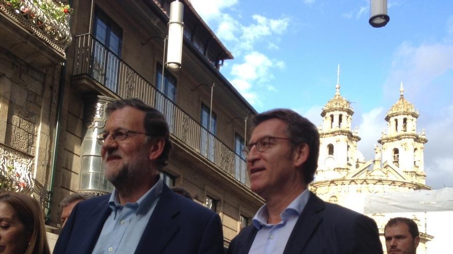 Rajoy cenó el sábado con Feijóo y otros parlamentarios gallegos tras ser reelegido presidente