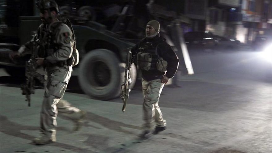 La policía afgana mata a todos los atacantes implicados en el ataque talibán en Kabul