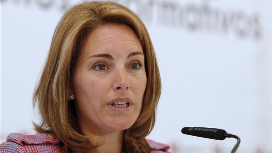 Arantza Quiroga abandona la Presidencia del PP del País Vasco