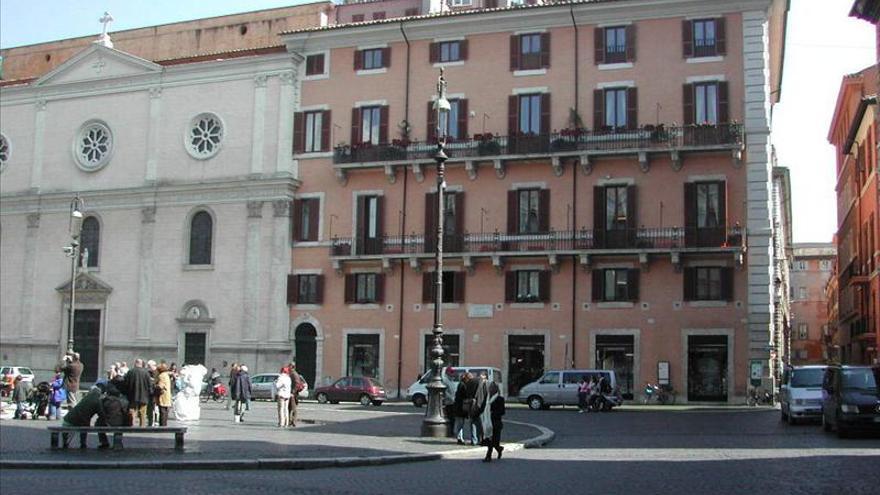 Un grupo proetarra irrumpe en la sede de la Agencia Efe en Roma