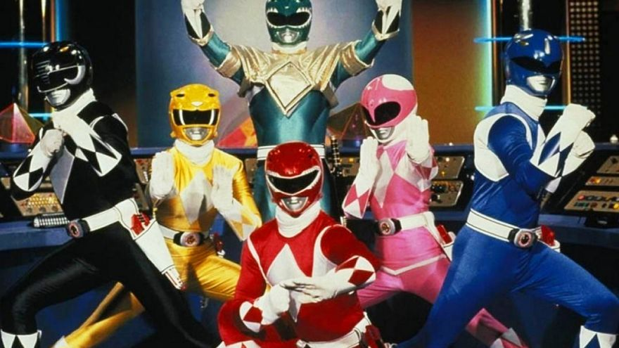 Los 'Power Rangers'