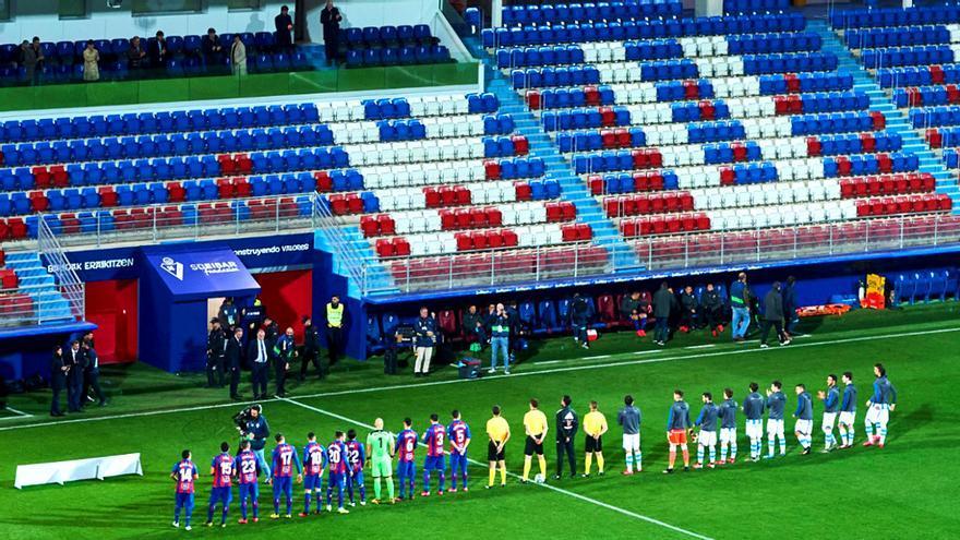 El Éibar-Real Sociedad ya se jugó sin público el 10 de marzo