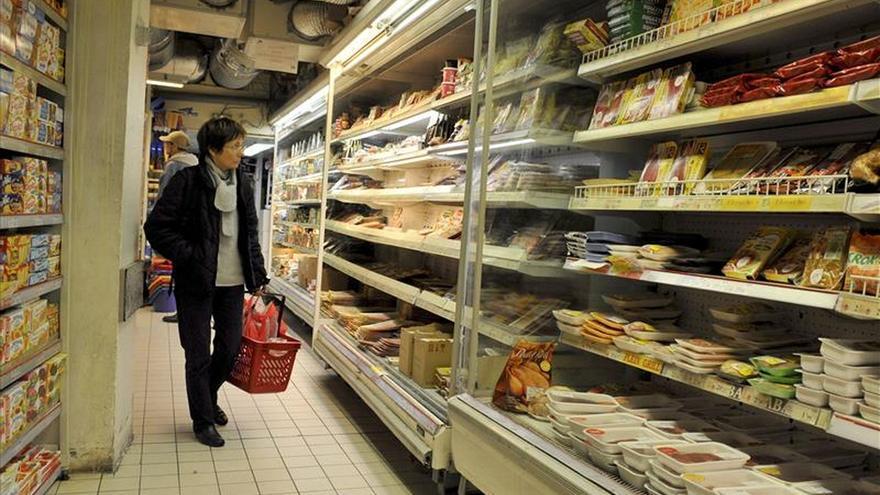 La inflación anual de la eurozona vuelve a terreno negativo en septiembre