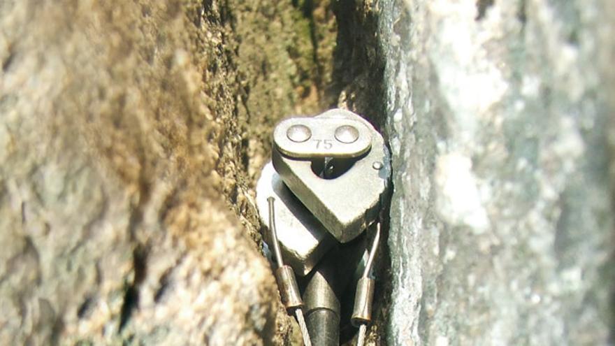 Seguros de protección en roca: su correcta colocación