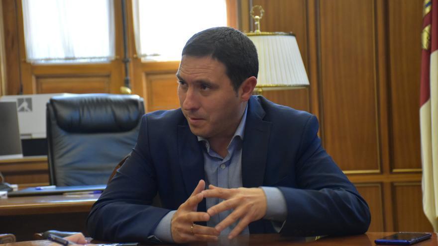 Álvaro Martínez Chana, presidente de la Diputación de Cuenca