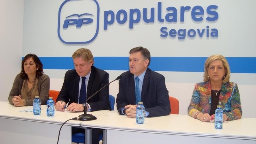 López-Istúriz (PP) critica la propuesta de C's de quitar municipios y dice que va contra la política europea