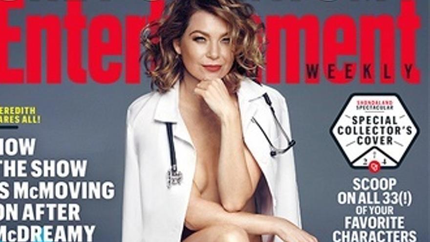 El posado más sexy de Ellen Pompeo, protagonista de 'Anatomía de Grey'