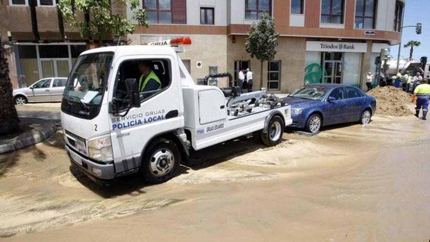 De la inundación en Julio Luengo #12