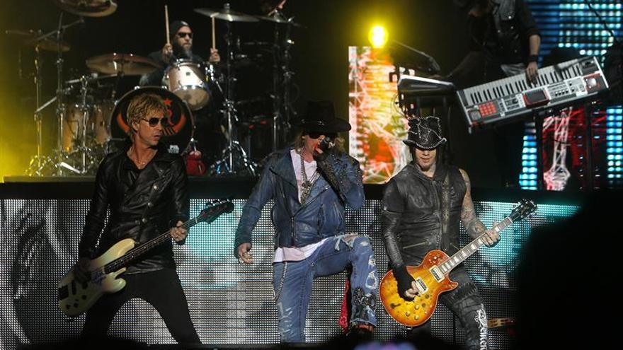 Agotadas las entradas para el concierto de Guns N'Roses en Madrid