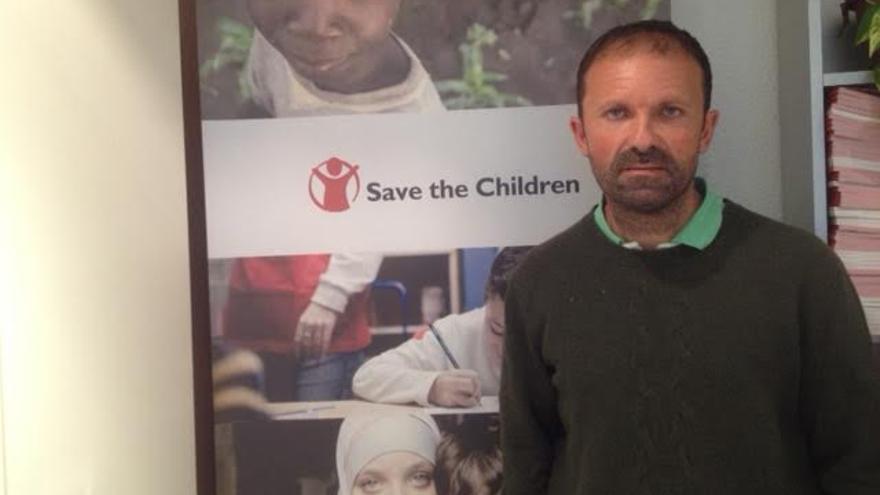 José Ignacio Alonso, del Área de Sensibilización y Políticas de Infancia de Save the Children.