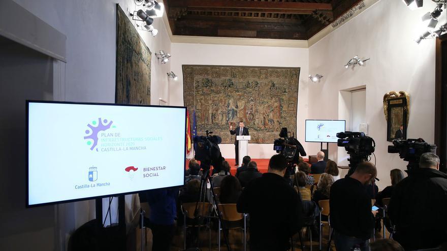 Presentación del Plan de Infraestructuras Sociales Horizonte 2020 de Castilla-La Mancha