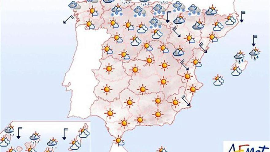 Mañana, viento intenso en el noreste y Menorca y muy fuerte en el Ampurdán