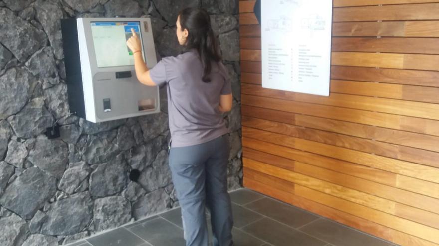 Registro de visitas de los centros.