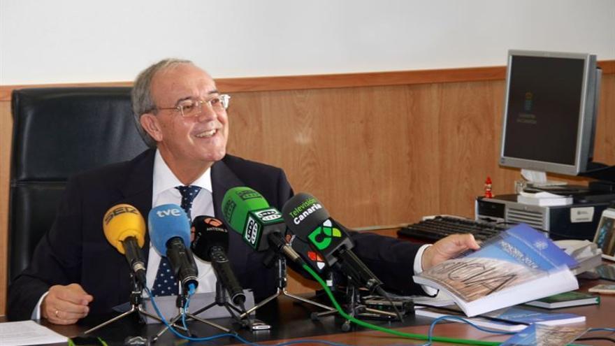 El Fiscal jefe de Canarias, Vicente Garrido.
