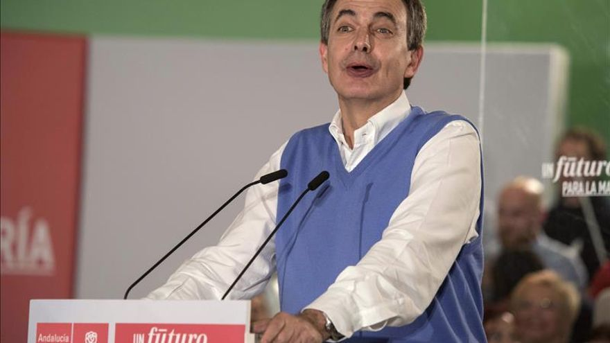 """Zapatero reivindica al PSOE como el partido """"que más necesita España"""""""