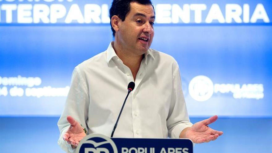 Moreno pide trasladar unidad política, social e institucional sobre Cataluña