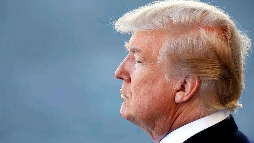 Trump urge a acabar con la financiación del terrorismo ante la crisis con Catar