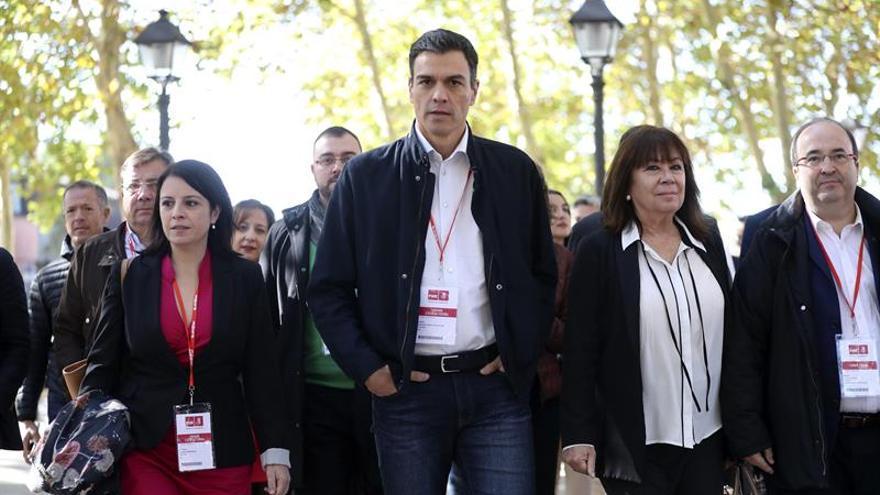 Sánchez e Iceta suman a todo el PSOE a su proyecto transversal para Cataluña