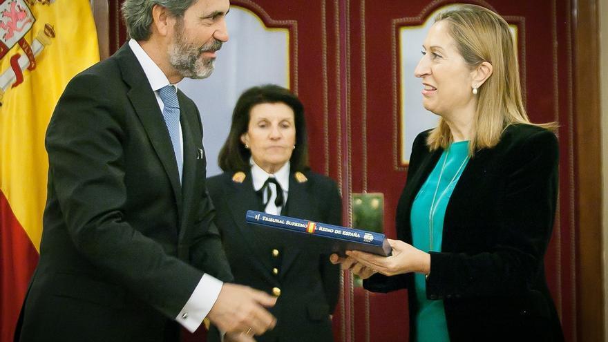 El Congreso, sin el PP, encarga al CGPJ que determine cuántos aforados hay en España para reducirlos