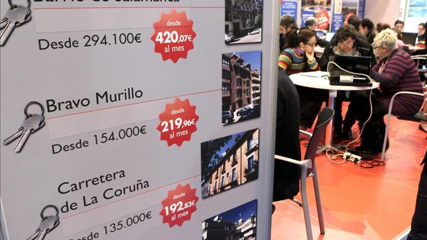 La venta de viviendas sube un 2 % en 2014 por primera vez desde 2010