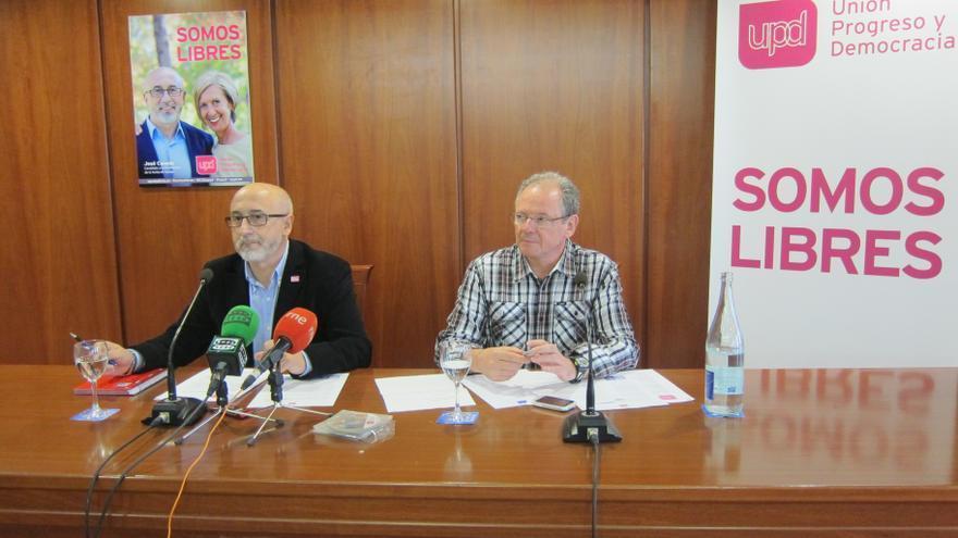 """UPyD se presenta con el lema 'Somos libres' y aspira a ser """"llave"""" con formaciones que """"apoyen"""" sus propuestas"""