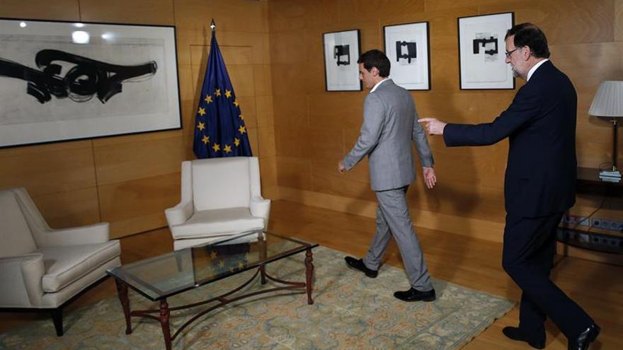 Rajoy enviará mañana a Rivera un documento de objetivos y propuestas de reforma
