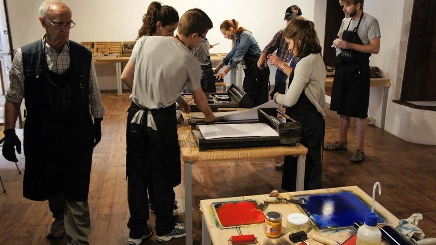 La Feria de Arte Liberarte contará con varios talleres.