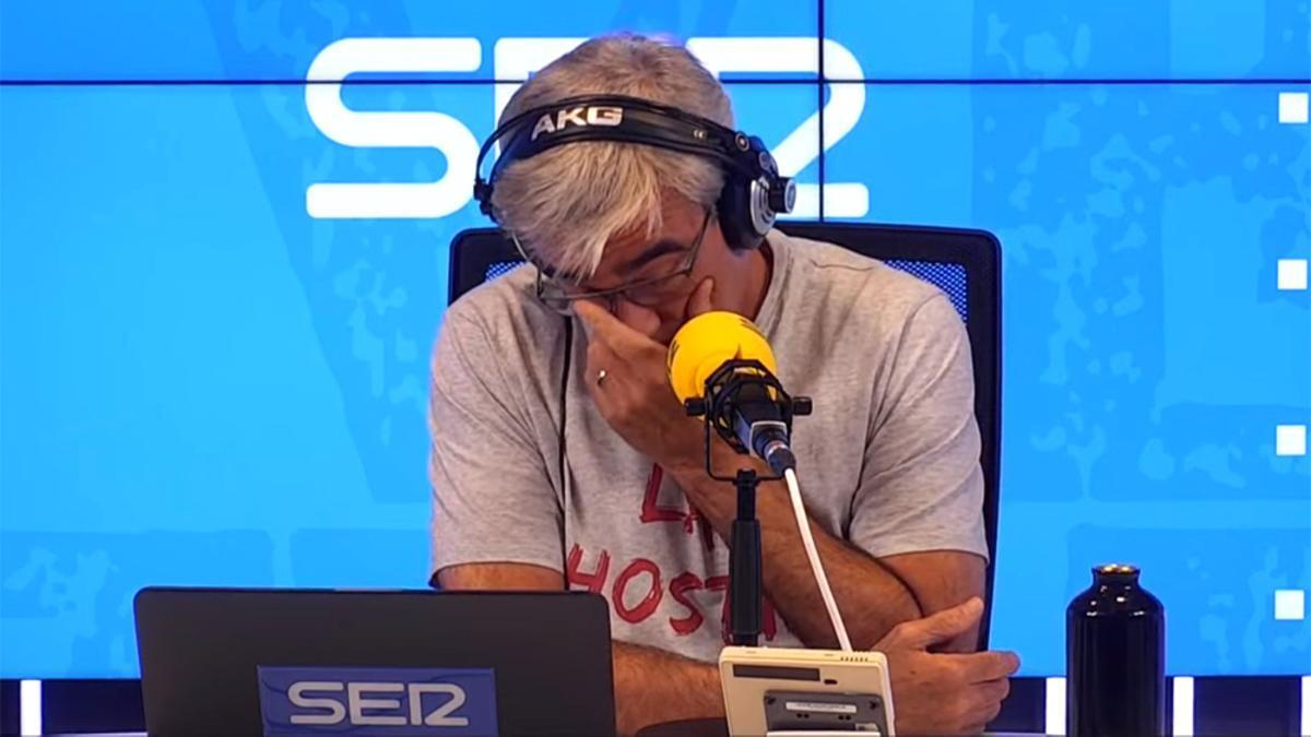 Carles Francino, emocionado en su regreso a la Cadena SER