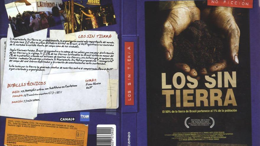 Cartel de 'Los sin tierra', el documental que cuenta 20 años de historia del MST