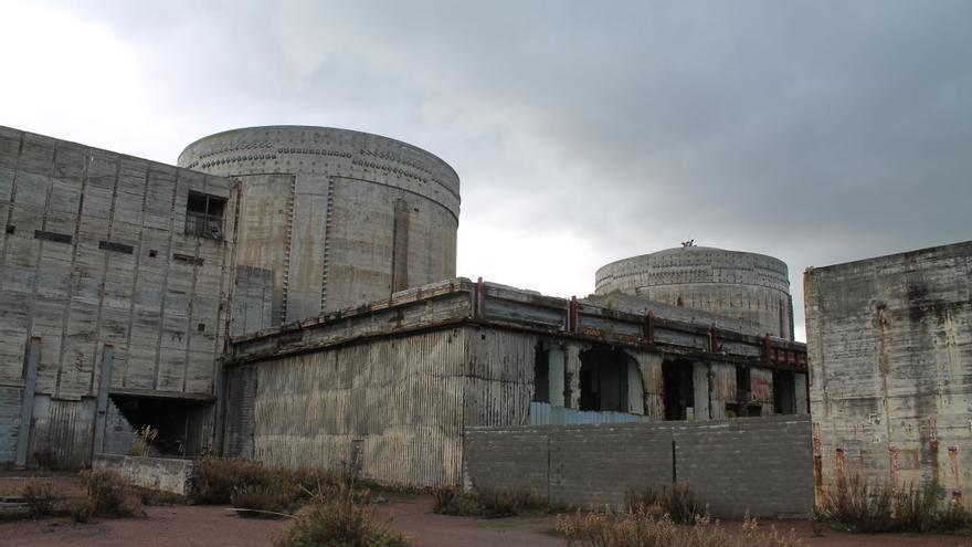 Imagen de la central de Lemoiz en la actualidad