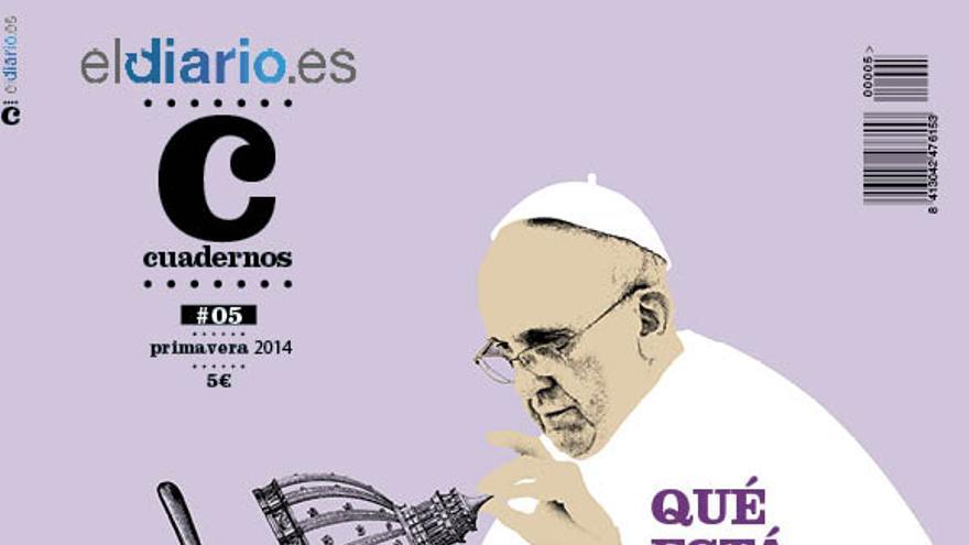 Portada del número 5 de la revista Cuadernos de eldiario.es.