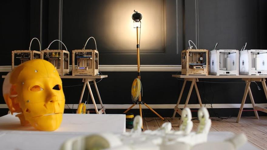 Ultimaker ha prestado sus impresoras 3D para construir el robot